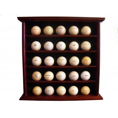 Kolekce historických golfových míčků