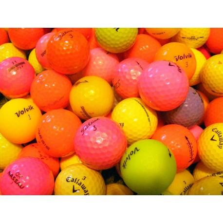 Barevné golfové míče (30 kusů)