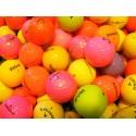 Barevné golfové míče (50 kusů)