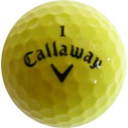 Žluté golfové míče (50 kusů)