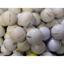 Trénink mix 4-vrstvé golfové míče (Titleist Pro V1, Bridgestone B330) - 50 +10 kusů ZDARMA - C MIX značek golfových míčků mix_TB_50