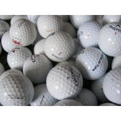 Trénink mix 4-vrstvé golfové míče (Titleist Pro V1, Callaway HX Tour) - 50 +10 kusů ZDARMA - C MIX značek golfových míčků mix_TC_50