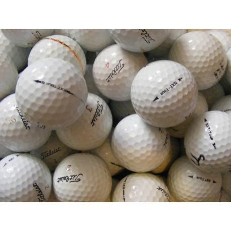 Trénink mix - golfové míče Titleist Pro V1 a Titleist NXT Tour - 50 +10 kusů ZDARMA - C