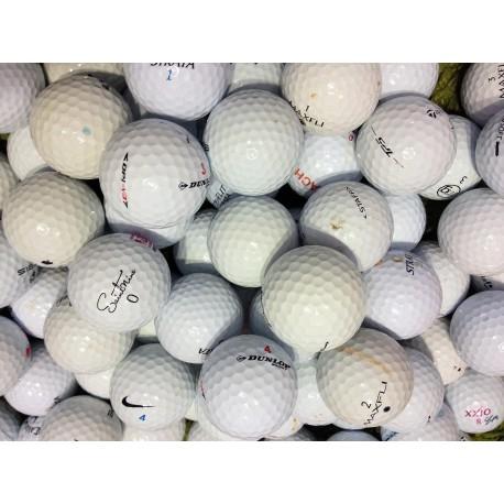 Čtyřvrstvé golfové míče Balata mix (50 kusů)