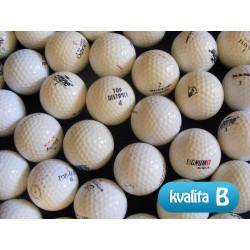 MIX golfových míčků 100 +20 kusů ZDARMA - B