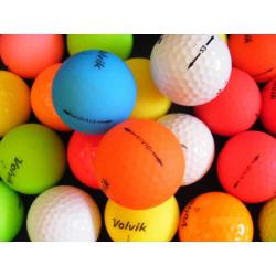VOLVIK barevné golfové míče (30 kusů)