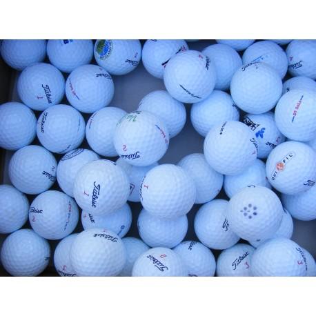 Titleist DT golfové míčky (50 kusů)
