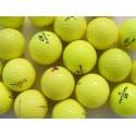Žluté golfové míče, trénink mix (50 + 10 kusů ZDARMA) - C