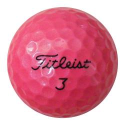 Růžové golfové míče (30 kusů)