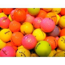 Barevné golfové míče, trénink mix (50 + 10 kusů ZDARMA) - C