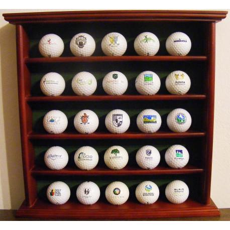 Kolekce českých klubových golfových míčků