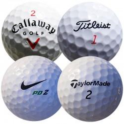 Mix značek (Callaway, Titleist, Nike, TaylorMade) - 50 kusů MIX značek golfových míčků mix_CTNT_50