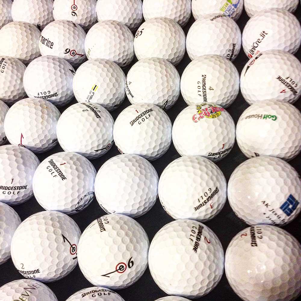 Kvalita golfových míčků A