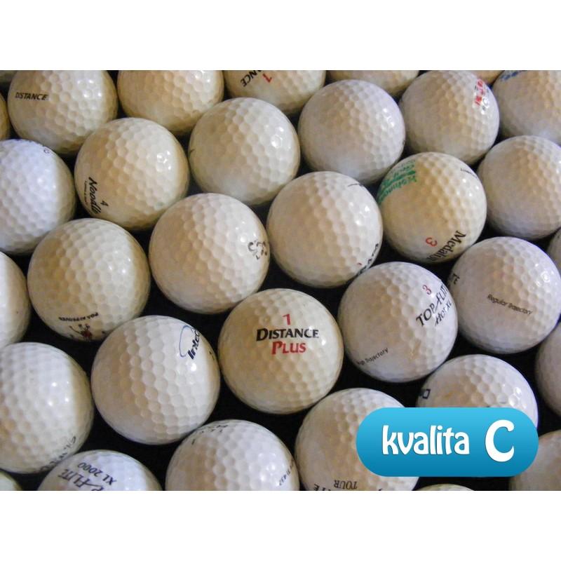 Kvalita golfových míčků C
