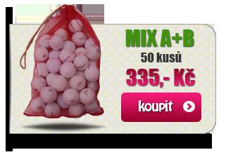Hrané golfové míčky MIX AB za výhodnou cenu