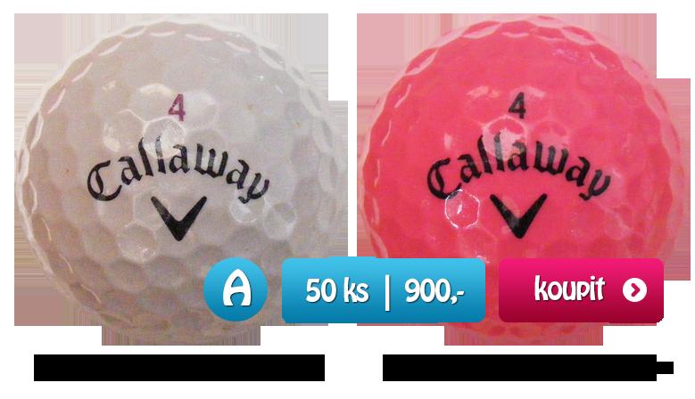 Callaway Solaire golfové míčky