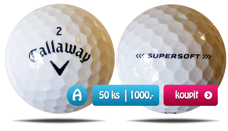 Callaway Supersoft golfové míče