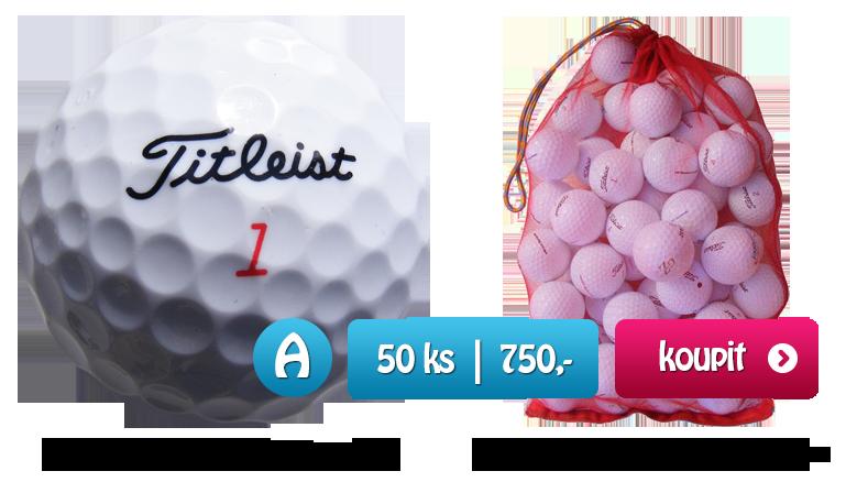 Titleist DT golfové míče