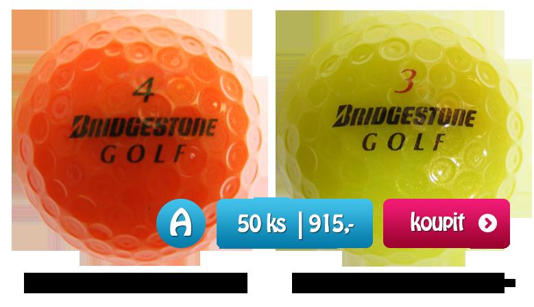 Barevné golfové míčky 50 kusů