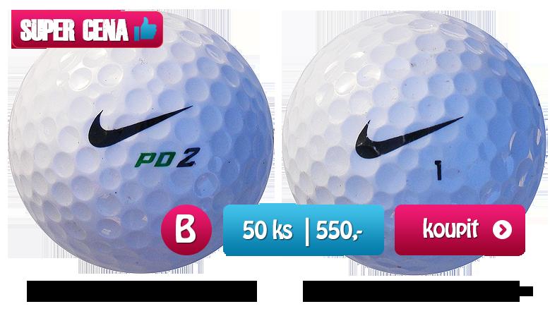 NIKE mix golfové míčky - 50 kusů - kvalita B