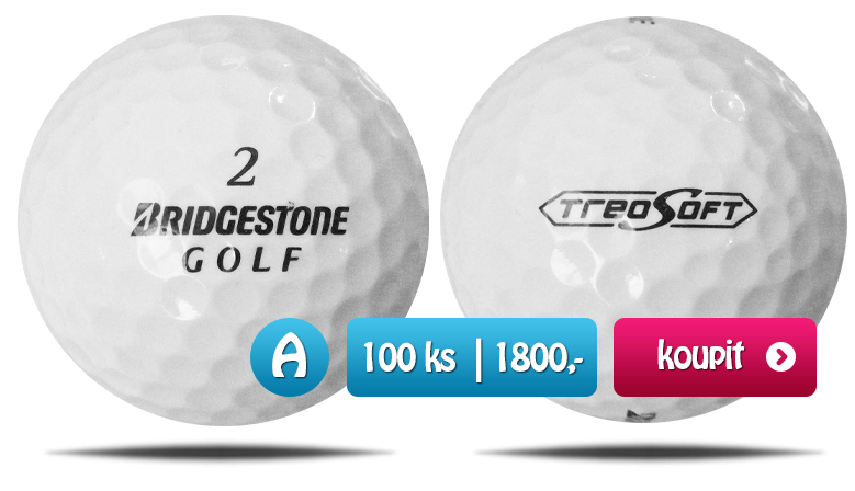Bridgestone TreoMix golfové míčky