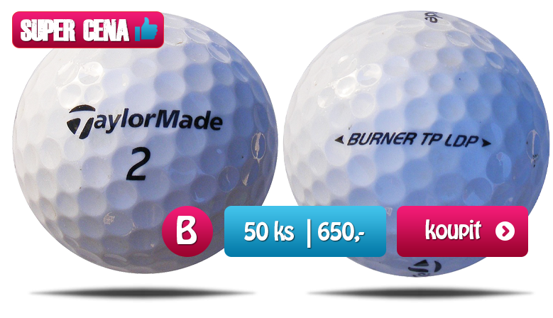 Taylor Made mix golfové míčky - 50 kusů - kvalita B