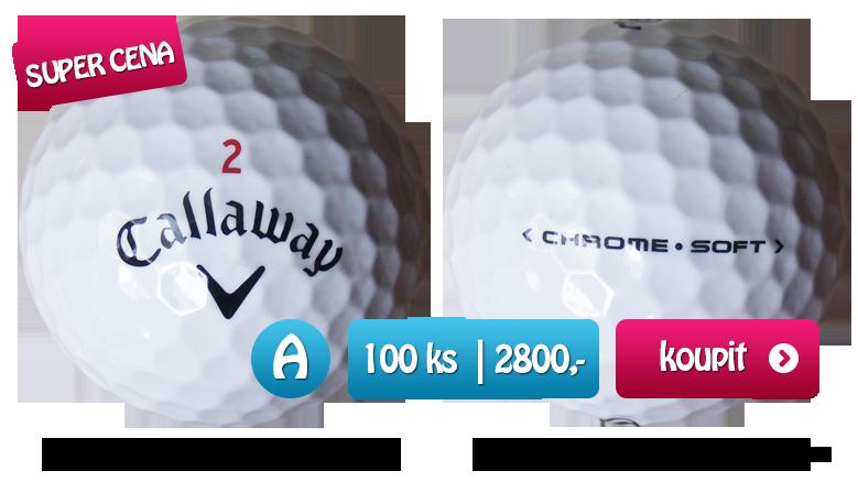 Callaway Chrome Soft golfové míče